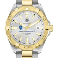Saint Louis University Men's TAG Heuer Two-Tone Aquaracer