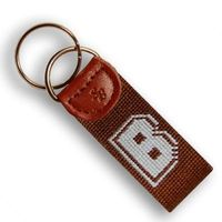 Brown Cotton Key Fob