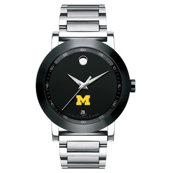 Michigan Men's Movado Museum Sport Bracelet - Image 2