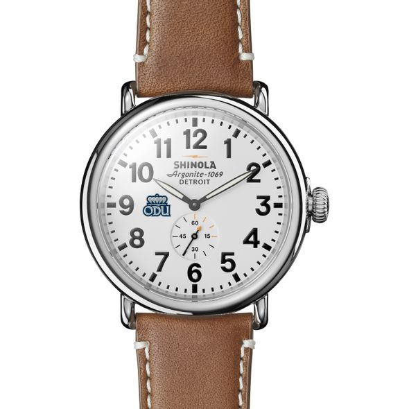Old Dominion Shinola Watch, The Runwell 47mm White Dial - Image 2