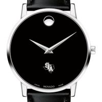 SFASU Men's Movado Museum with Leather Strap