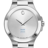 Emory Goizueta Men's Movado Collection Stainless Steel Watch with Silver Dial