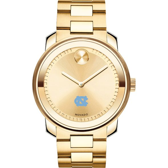 University of North Carolina Men's Movado Gold Bold - Image 2