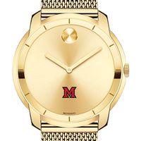 Miami University Men's Movado Gold Bold 44