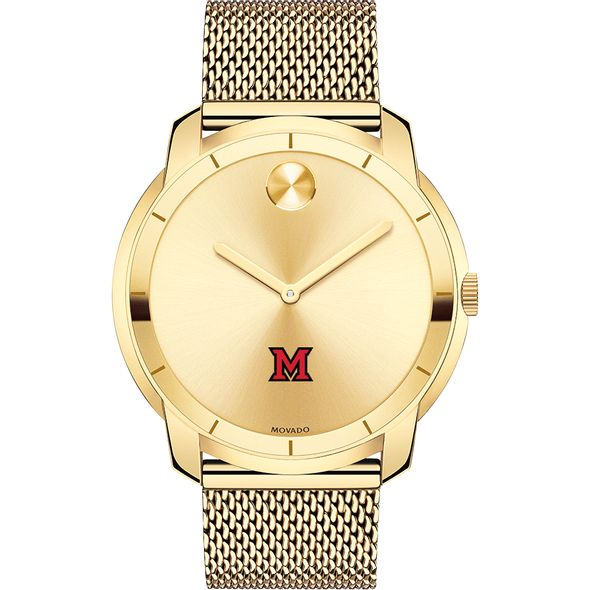 Miami University Men's Movado Gold Bold 44 - Image 2