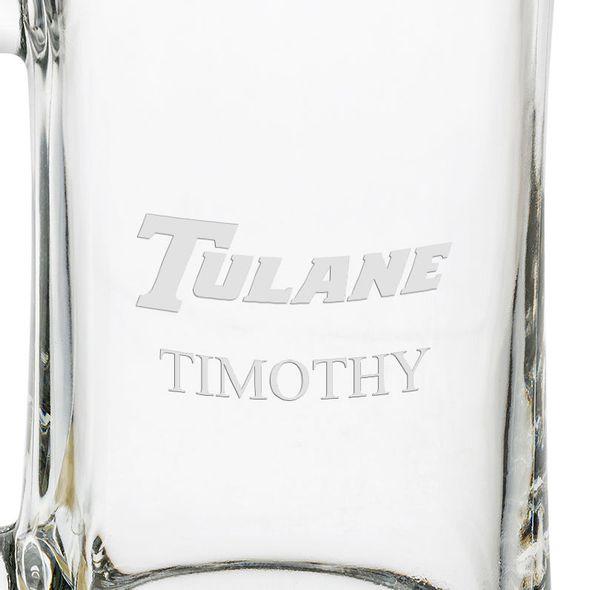 Tulane 25 oz Beer Mug - Image 3