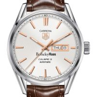 Berkeley Haas Men's TAG Heuer Day/Date Carrera with Silver Dial & Strap