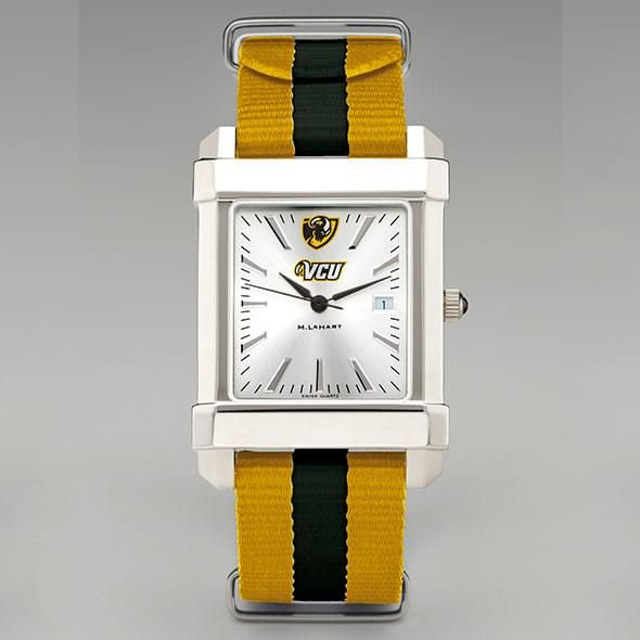 Virginia Commonwealth University Collegiate Watch with NATO Strap for Men - Image 2