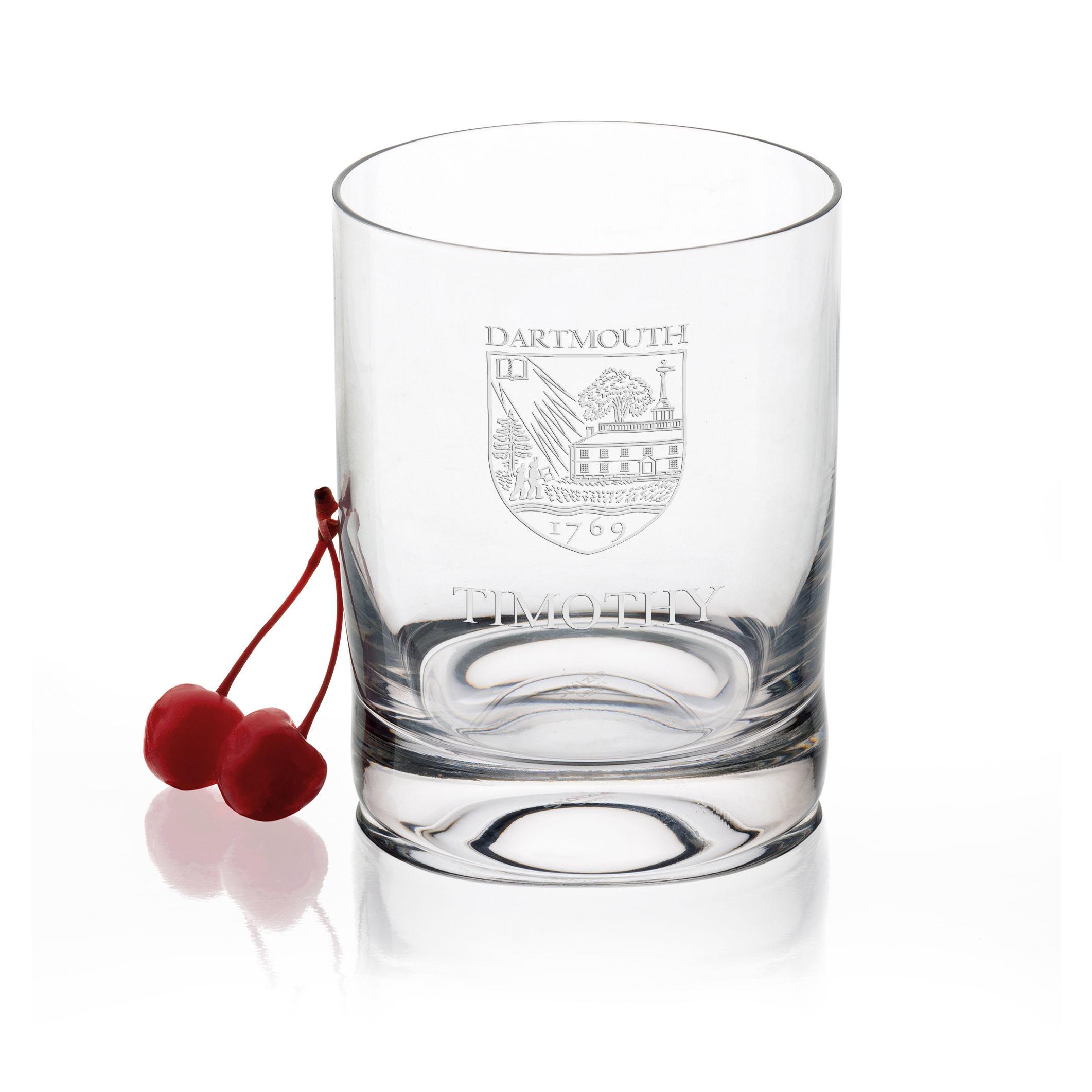 Dartmouth College Tumbler Glasses - Set of 4
