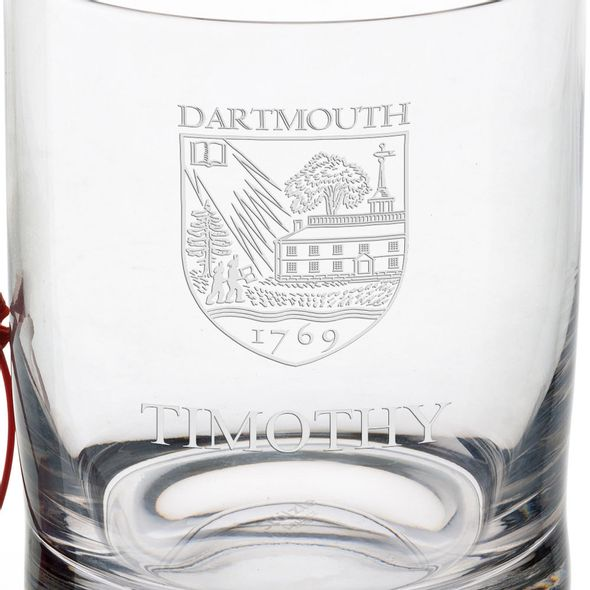 Dartmouth College Tumbler Glasses - Set of 4 - Image 3