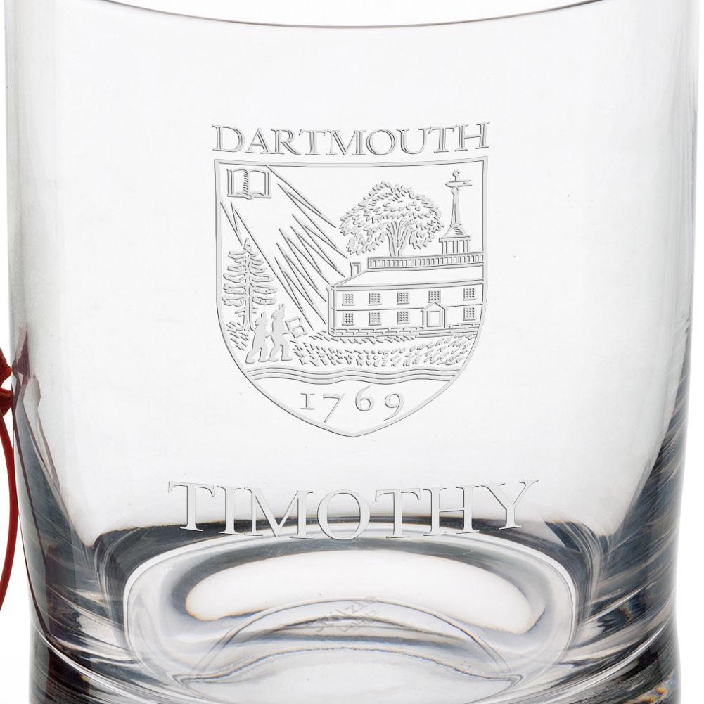 Dartmouth College Tumbler Glasses - Set of 4 - Image 3