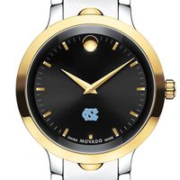 North Carolina Men's Movado Luno Sport Two-Tone