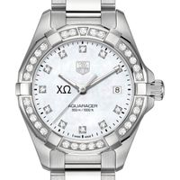 Chi Omega W's TAG Heuer Aquaracer with MOP Dia Dial & Bezel