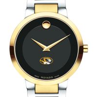 University of Missouri Men's Movado Two-Tone Modern Classic Museum with Bracelet