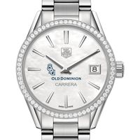 Old Dominion Women's TAG Heuer Steel Carrera with MOP Dial & Diamond Bezel
