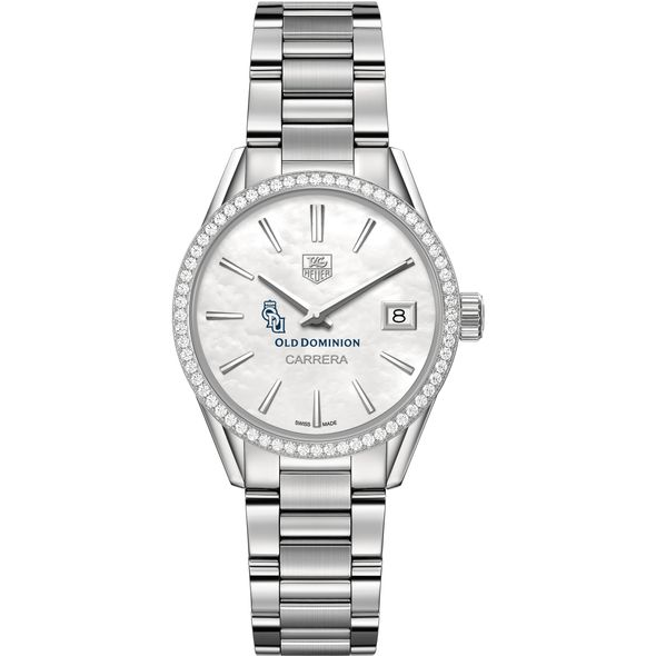 Old Dominion Women's TAG Heuer Steel Carrera with MOP Dial & Diamond Bezel - Image 2