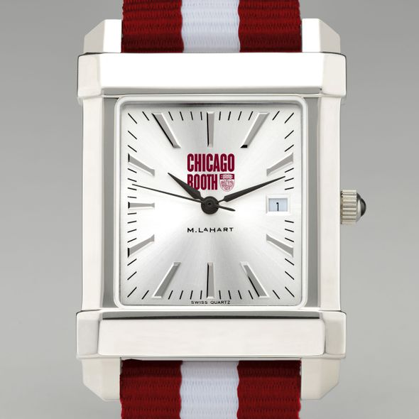 Chicago Booth Collegiate Watch with NATO Strap for Men - Image 1