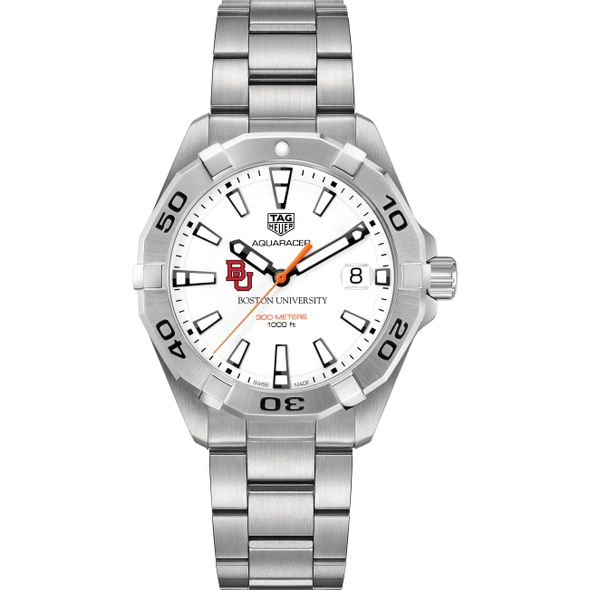 Boston University Men's TAG Heuer Steel Aquaracer - Image 2