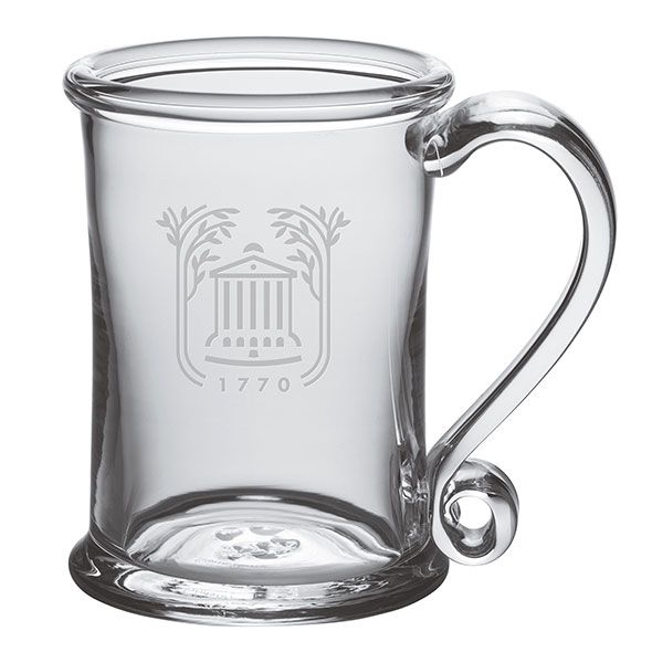 College of Charleston Glass Tankard by Simon Pearce