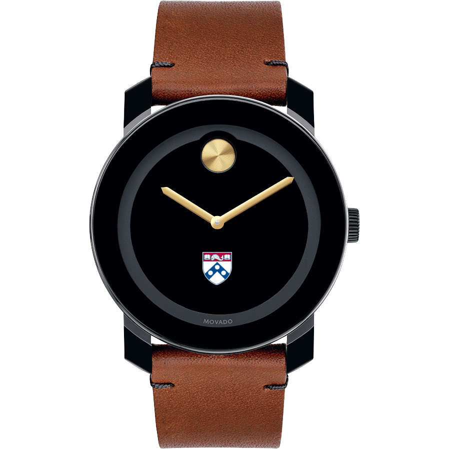 Penn Men's Movado BOLD with Brown Leather Strap - Image 2