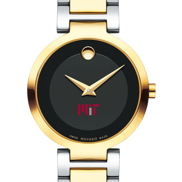 MIT Women's Movado Two-Tone Modern Classic Museum with Bracelet