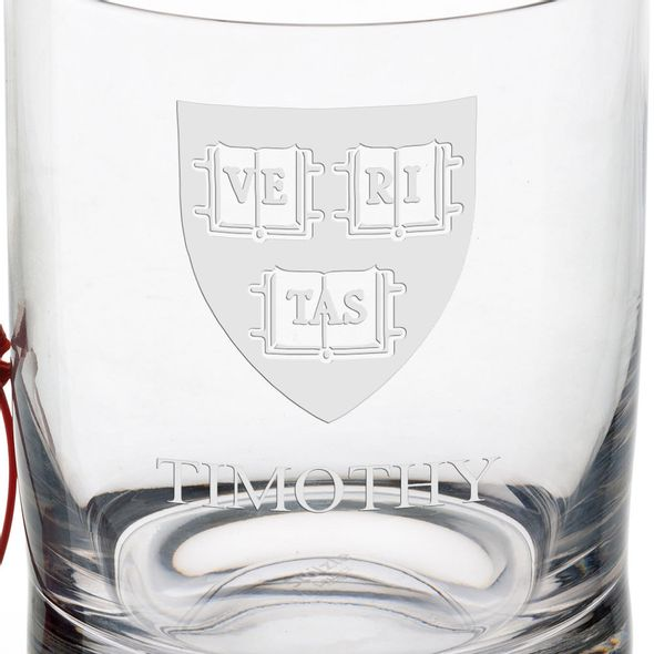 Harvard University Tumbler Glasses - Set of 4 - Image 3