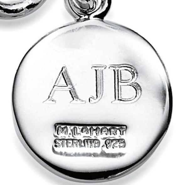 Tulane Sterling Silver Charm Bracelet - Image 3