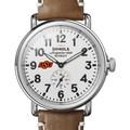 Oklahoma State Shinola Watch, The Runwell 41mm White Dial - Image 1