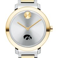 University of Iowa Women's Movado Two-Tone Bold 34