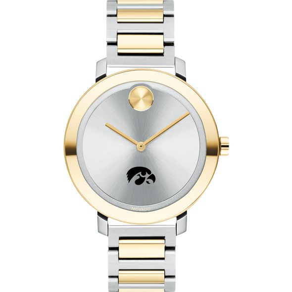 University of Iowa Women's Movado Two-Tone Bold 34 - Image 2