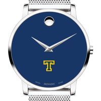 Trinity College Men's Movado Museum with Blue Dial & Mesh Bracelet