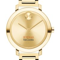 McCombs School of Business Women's Movado Gold Bold 34