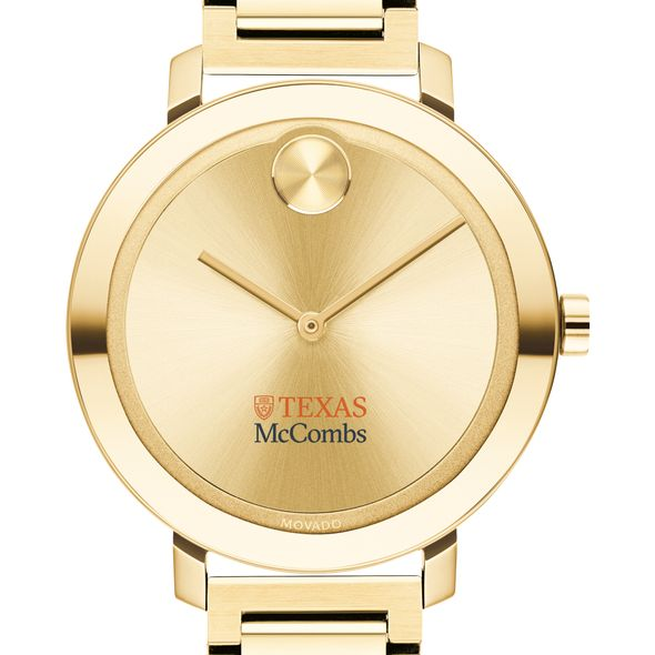 McCombs School of Business Women's Movado Gold Bold 34 - Image 1