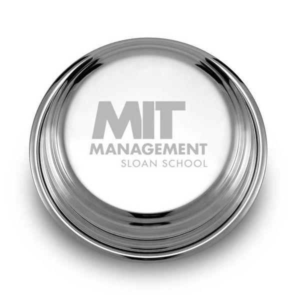 MIT Sloan Pewter Paperweight - Image 1