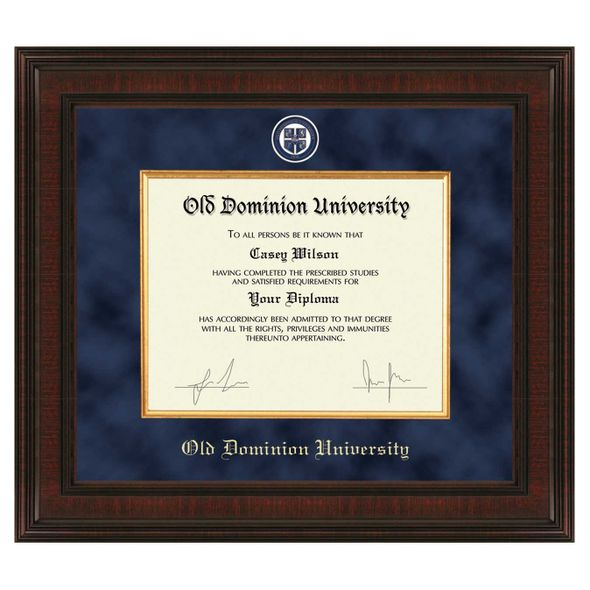 Old Dominion Diploma Frame - Excelsior