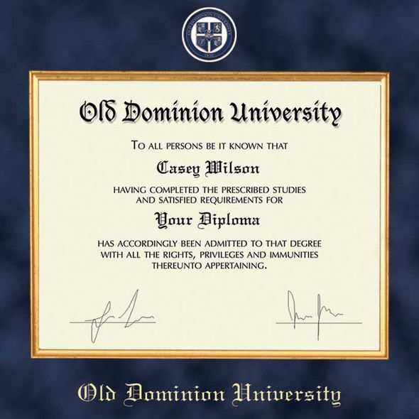 Old Dominion Diploma Frame - Excelsior - Image 2