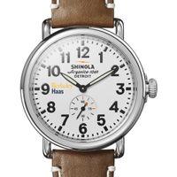 Berkeley Haas Shinola Watch, The Runwell 41mm White Dial