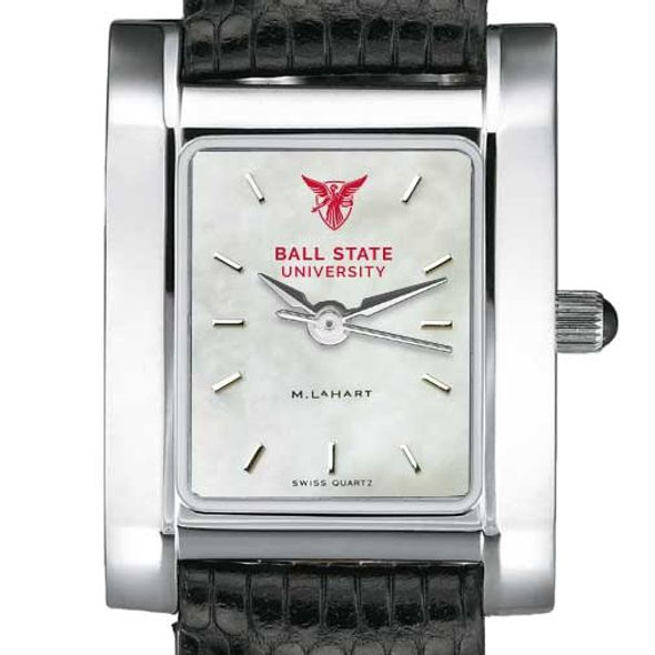 Ball State Women's MOP Quad with Leather Strap - Image 1
