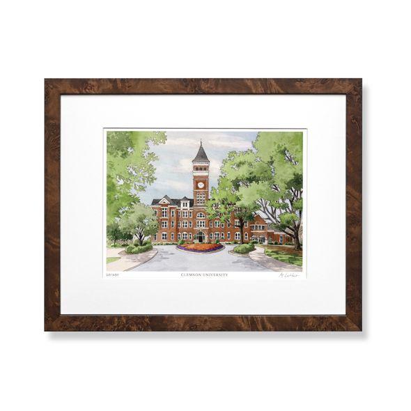 Clemson Campus Print- Limited Edition, Medium