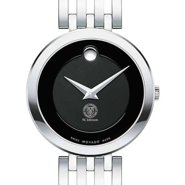 SC Johnson College Women's Movado Esparanza Stainless Steel Museum with Bracelet