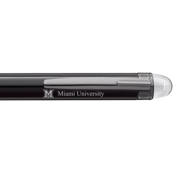 Miami University in Ohio Montblanc StarWalker Ballpoint Pen in Ruthenium - Image 2