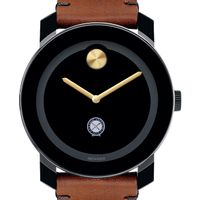 U.S. Naval Institute Men's Movado BOLD with Brown Leather Strap