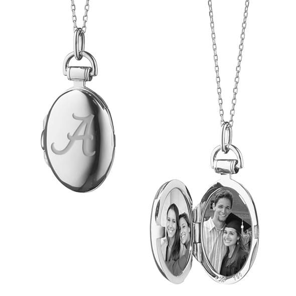 Alabama Monica Rich Kosann Petite Locket in Silver - Image 2