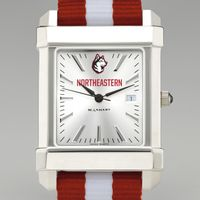 Northeastern Collegiate Watch with NATO Strap for Men