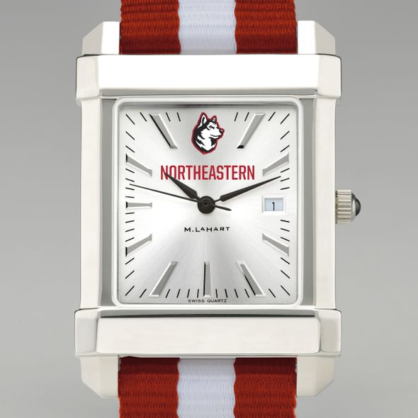 Northeastern Collegiate Watch with NATO Strap for Men - Image 1