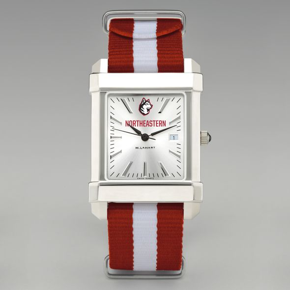 Northeastern Collegiate Watch with NATO Strap for Men - Image 2