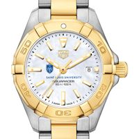 Saint Louis University TAG Heuer Two-Tone Aquaracer for Women