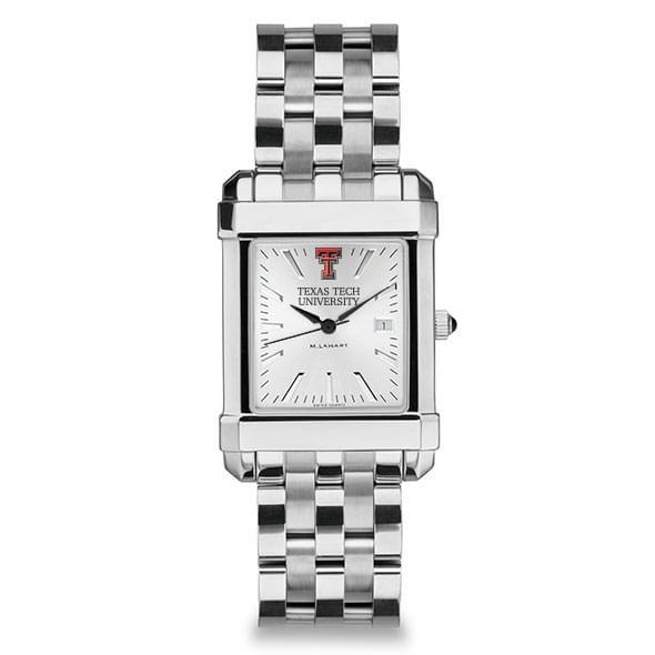 Texas Tech Men's Collegiate Watch w/ Bracelet - Image 2