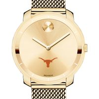 University of Texas Women's Movado Gold Bold 36