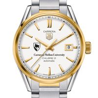 Carnegie Mellon University Men's TAG Heuer Two-Tone Carrera with Bracelet